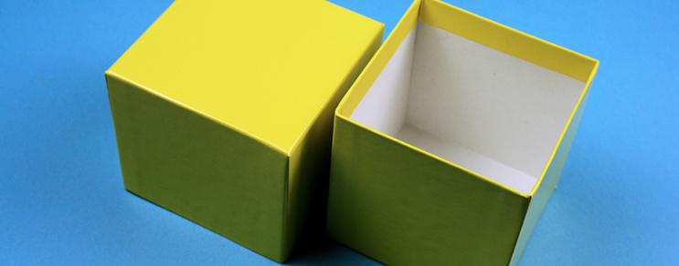 Karton kutu 13,6x13,6x7,5 cm