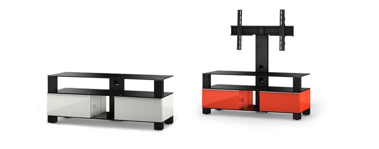 Designer TV Möbel geschlossenen + offenen